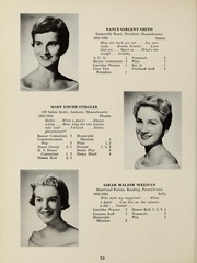 Page 34, 1956 Edition, Abbot Academy - Circle Yearbook (Andover, MA) online yearbook collection