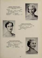 Page 39, 1956 Edition, Abbot Academy - Circle Yearbook (Andover, MA) online yearbook collection