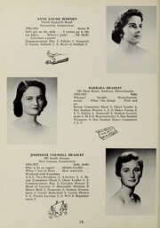 Page 22, 1957 Edition, Abbot Academy - Circle Yearbook (Andover, MA) online yearbook collection