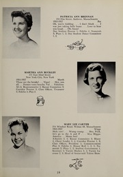 Page 23, 1957 Edition, Abbot Academy - Circle Yearbook (Andover, MA) online yearbook collection