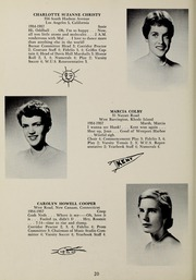 Page 24, 1957 Edition, Abbot Academy - Circle Yearbook (Andover, MA) online yearbook collection