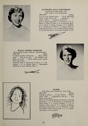 Page 27, 1957 Edition, Abbot Academy - Circle Yearbook (Andover, MA) online yearbook collection