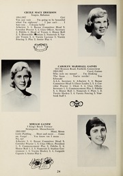 Page 28, 1957 Edition, Abbot Academy - Circle Yearbook (Andover, MA) online yearbook collection