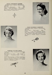 Page 32, 1957 Edition, Abbot Academy - Circle Yearbook (Andover, MA) online yearbook collection
