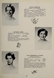 Page 33, 1957 Edition, Abbot Academy - Circle Yearbook (Andover, MA) online yearbook collection
