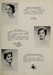 Page 35, 1957 Edition, Abbot Academy - Circle Yearbook (Andover, MA) online yearbook collection