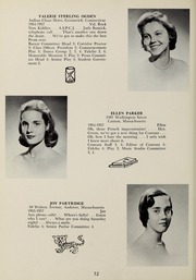 Page 36, 1957 Edition, Abbot Academy - Circle Yearbook (Andover, MA) online yearbook collection