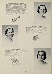 Page 38, 1957 Edition, Abbot Academy - Circle Yearbook (Andover, MA) online yearbook collection