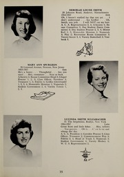 Page 39, 1957 Edition, Abbot Academy - Circle Yearbook (Andover, MA) online yearbook collection