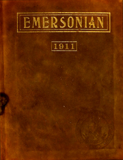 Page 1, 1911 Edition, Emerson College - Emersonian Yearbook (Boston, MA) online yearbook collection