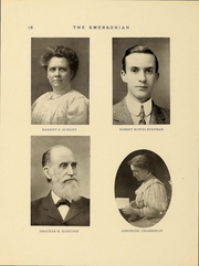 Page 17, 1911 Edition, Emerson College - Emersonian Yearbook (Boston, MA) online yearbook collection