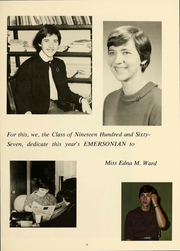 Page 10, 1967 Edition, Emerson College - Emersonian Yearbook (Boston, MA) online yearbook collection