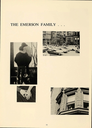 Page 15, 1967 Edition, Emerson College - Emersonian Yearbook (Boston, MA) online yearbook collection
