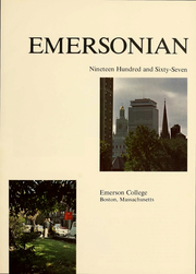 Page 2, 1967 Edition, Emerson College - Emersonian Yearbook (Boston, MA) online yearbook collection