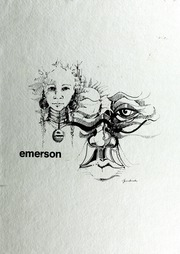 Emerson College - Emersonian Yearbook (Boston, MA) online yearbook collection, 1976 Edition, Page 1