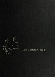1982 Edition, Emerson College - Emersonian Yearbook (Boston, MA)