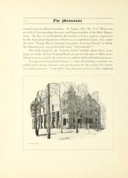 Page 16, 1904 Edition, Springfield College - Massasoit Yearbook (Springfield, MA) online yearbook collection