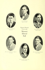 Page 16, 1928 Edition, Springfield College - Massasoit Yearbook (Springfield, MA) online yearbook collection