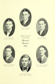 Page 17, 1928 Edition, Springfield College - Massasoit Yearbook (Springfield, MA) online yearbook collection