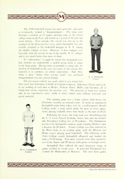 Page 171, 1930 Edition, Springfield College - Massasoit Yearbook (Springfield, MA) online yearbook collection