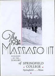 Page 3, 1934 Edition, Springfield College - Massasoit Yearbook (Springfield, MA) online yearbook collection