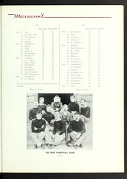 Page 129, 1939 Edition, Springfield College - Massasoit Yearbook (Springfield, MA) online yearbook collection