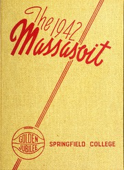 1942 Edition, Springfield College - Massasoit Yearbook (Springfield, MA)