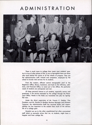 Page 15, 1949 Edition, Springfield College - Massasoit Yearbook (Springfield, MA) online yearbook collection