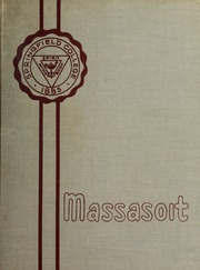 1957 Edition, Springfield College - Massasoit Yearbook (Springfield, MA)