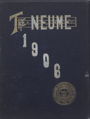 Page 1, 1906 Edition, New England Conservatory of Music - Neume Yearbook (Boston, MA) online yearbook collection