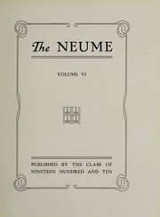 Page 7, 1910 Edition, New England Conservatory of Music - Neume Yearbook (Boston, MA) online yearbook collection
