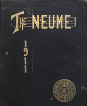 New England Conservatory of Music - Neume Yearbook (Boston, MA) online yearbook collection, 1911 Edition, Page 1