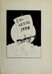 Page 1, 1928 Edition, New England Conservatory of Music - Neume Yearbook (Boston, MA) online yearbook collection