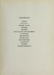 Page 11, 1932 Edition, New England Conservatory of Music - Neume Yearbook (Boston, MA) online yearbook collection
