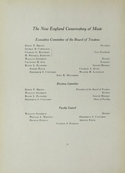 Page 16, 1932 Edition, New England Conservatory of Music - Neume Yearbook (Boston, MA) online yearbook collection