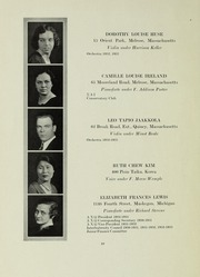 Page 10, 1933 Edition, New England Conservatory of Music - Neume Yearbook (Boston, MA) online yearbook collection