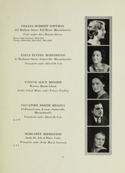 Page 11, 1933 Edition, New England Conservatory of Music - Neume Yearbook (Boston, MA) online yearbook collection