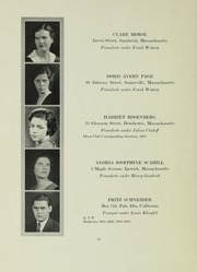 Page 12, 1933 Edition, New England Conservatory of Music - Neume Yearbook (Boston, MA) online yearbook collection