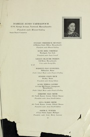 Page 15, 1933 Edition, New England Conservatory of Music - Neume Yearbook (Boston, MA) online yearbook collection