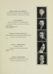 Page 5, 1933 Edition, New England Conservatory of Music - Neume Yearbook (Boston, MA) online yearbook collection