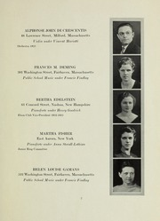 Page 7, 1933 Edition, New England Conservatory of Music - Neume Yearbook (Boston, MA) online yearbook collection