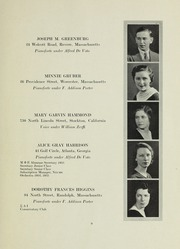 Page 9, 1933 Edition, New England Conservatory of Music - Neume Yearbook (Boston, MA) online yearbook collection