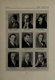 Page 15, 1934 Edition, New England Conservatory of Music - Neume Yearbook (Boston, MA) online yearbook collection