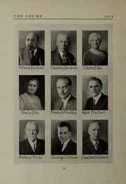 Page 16, 1934 Edition, New England Conservatory of Music - Neume Yearbook (Boston, MA) online yearbook collection