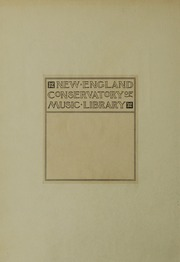 Page 2, 1934 Edition, New England Conservatory of Music - Neume Yearbook (Boston, MA) online yearbook collection