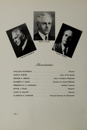 Page 12, 1941 Edition, New England Conservatory of Music - Neume Yearbook (Boston, MA) online yearbook collection