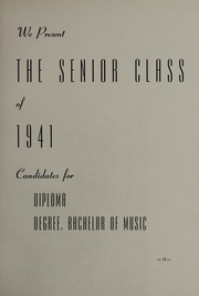 Page 17, 1941 Edition, New England Conservatory of Music - Neume Yearbook (Boston, MA) online yearbook collection
