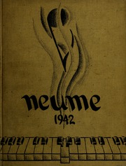 New England Conservatory of Music - Neume Yearbook (Boston, MA) online yearbook collection, 1942 Edition, Page 1