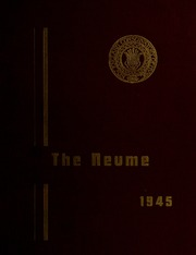 Page 1, 1945 Edition, New England Conservatory of Music - Neume Yearbook (Boston, MA) online yearbook collection