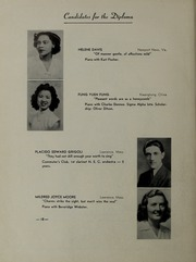 Page 14, 1945 Edition, New England Conservatory of Music - Neume Yearbook (Boston, MA) online yearbook collection